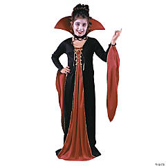 Victorian Vampiress Child's Costume