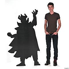 Villain Silhouette Stand-Up