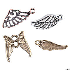 Vintage Angel Wing Charms