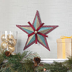 Vintage Christmas Barn Star Idea