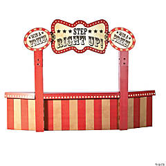 Vintage Circus Attraction Booth Stand-Up