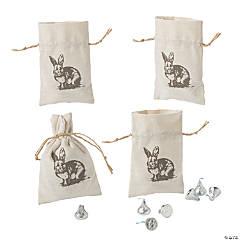 Vintage Easter Drawstring Favor Bags