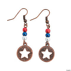 Vintage Patriotic Earrings Craft Kit