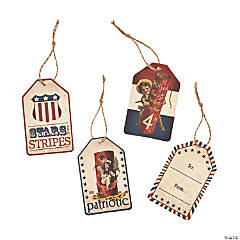 Vintage Patriotic Favor Tags