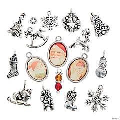 Vintage Santa Charms & Beads