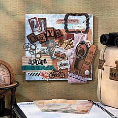 Vintage Travel Plaque Idea