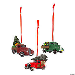 Vintage Truck Christmas Ornaments