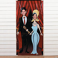 Vinyl Movie Night Photo Door Banner