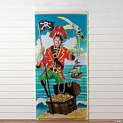 Vinyl Pirate Party Photo Door Banner