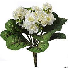 "Violet Plant 12""-White"