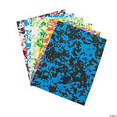 Wacky Print Craft Sheets