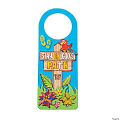 Walk His Way Doorknob Hanger Craft Kit