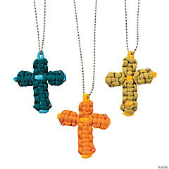 Walk His Way Paracord Cross Necklaces