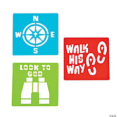 Walk His Way Stencils