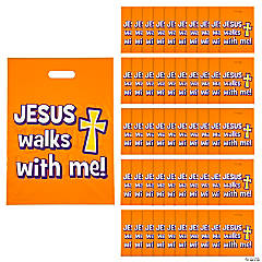 Walk Safely with Jesus Treat Bags