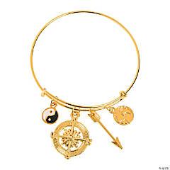 Wanderlust Gold Bracelet Idea