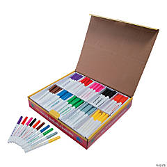 Washable Fine Tip 10-Color Marker Classpack