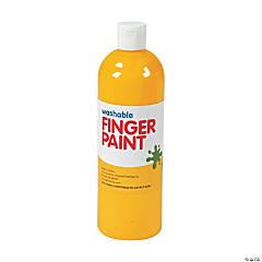 Washable Yellow Finger Paint - 16 oz.