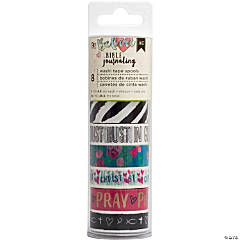 Washi Tape 5yd Rolls-Edgy, 8/Pkg