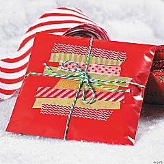 Washi Tape Holiday Gift Packaging Idea
