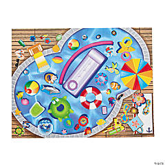 Water Fun Sticker Scenes