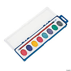 Watercolor Metallic Paint Trays