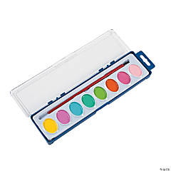 Watercolor Pastel Paint Trays