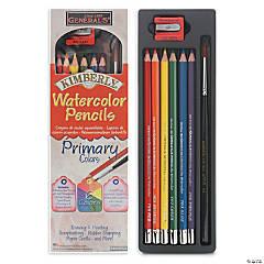 Watercolor Pencils Primary Colors