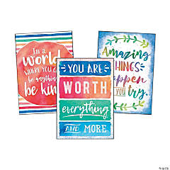 Watercolor Positive Posters