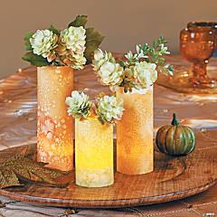 Watercolor Vases Idea