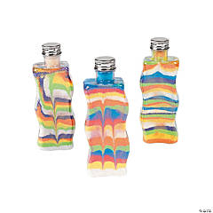 Wavy Sand Art Bottles