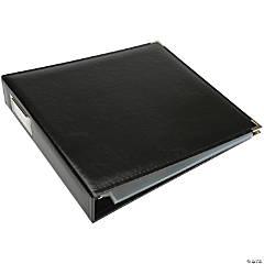We R Classic Leather D-Ring Album-Black  12