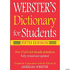 Webster's Dictionary for Students, Fifth Edition, Set of 6 dictionaries