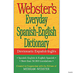 Webster's Everyday Spanish-English Dictionary, Set of 6 dictionaries