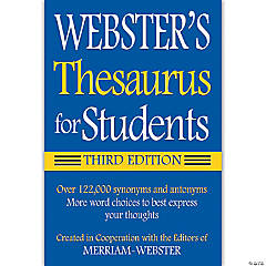 Webster's Thesaurus for Students, Set of 6 thesauruses