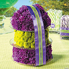 Wedding Cake Centerpiece Idea
