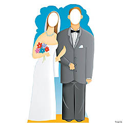 Wedding Couple Cardboard Stand-In Stand-Up