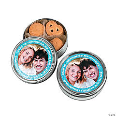 Wedding Custom Photo Cookie Tin