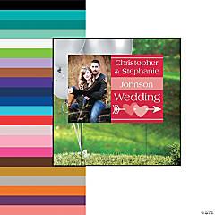Wedding Custom Photo Yard Sign