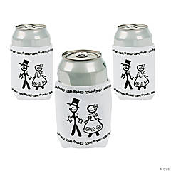 Wedding Icon Can Coolers