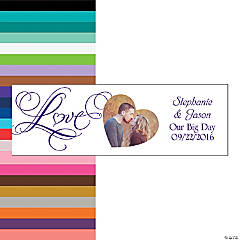 Wedding Love Custom Photo Banner
