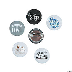 Wedding Mini Buttons