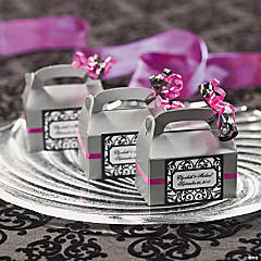 Wedding Mini Favor Boxes Idea