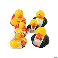 Wedding Party Rubber Duckies