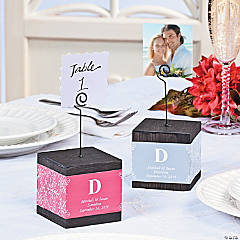 Wedding Photo Block Holder / Table Number Holders