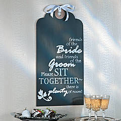 Wedding Tag Sign Idea