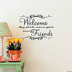 Welcome Friends Decals