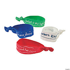 Welcome Jesus Elastic Bracelet/Hair Ties