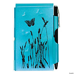Wellspring Flip Notes Blue Butterfly