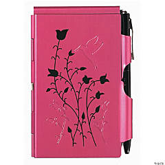 Wellspring Flip Notes Raspberry Hummingbird